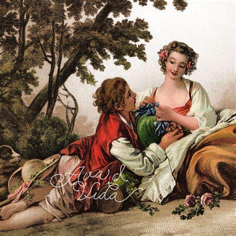 Pastoral Bliss Digital Download: Marie Antoinette Style