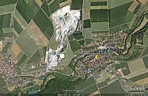 Google Earth Fläche Berechnen : aub mit google earth robert may am marktplatz der stadt aub im frankenland ~ Themetempest.com Abrechnung