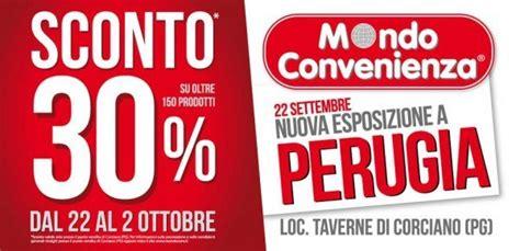 Mondo Convenienza Perugia Divani by Mondo Convenienza Riapre A Perugia Oggi Inaugurazione