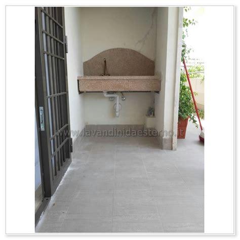 lavabo da terrazzo lavelli da esterno acquaio in graniglia levigata con foro 581