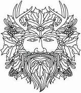 Yule Tide Masques Païenne Pyrogravure Activite Vitrail Witchcraft sketch template