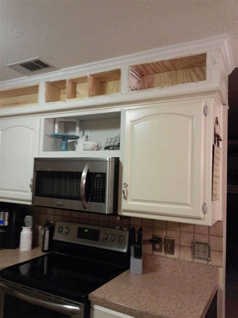 Decorating Ideas Kitchen Soffits by Update From Outdated Soffits To Usable Space Hometalk