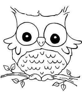 Owl Color Pages - AZ Coloring Pages