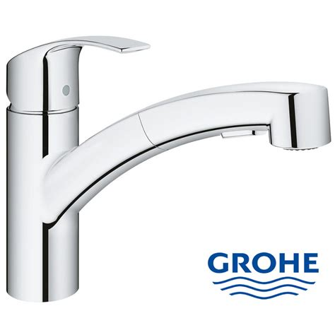 grohe cuisine grohe eurosmart single lever kitchen mixer with pull out