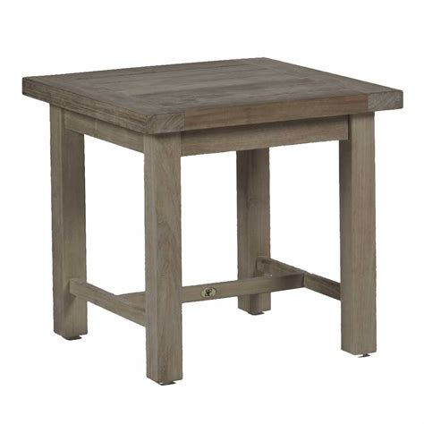 club teak end table outdoor end table