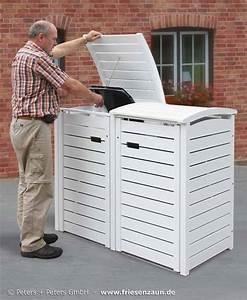 Tonne Aus Holz : m lltonnenboxen hartholz 25 jahre garantie ~ Watch28wear.com Haus und Dekorationen
