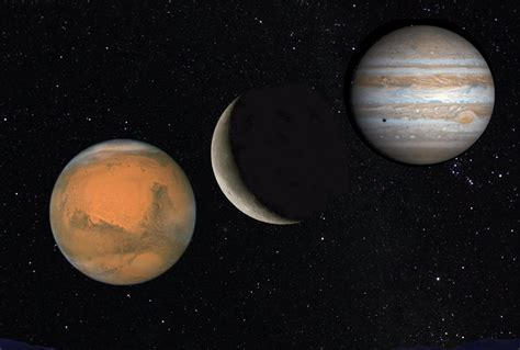 Red Planet, Bull's Eye, And Jovian