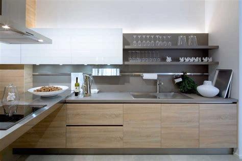 cuisine chene clair moderne cuisines actuelles bois