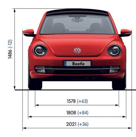 vw beetle technische daten vw beetle abmessungen technische daten l 228 nge breite