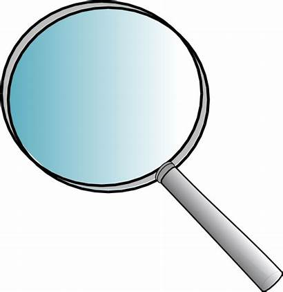 Magnifying Glass Science Clip Clipart Forensic Transparent