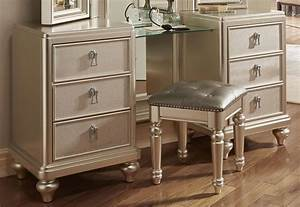 Diva Vanity Dresser W Stool Dressers Bedroom