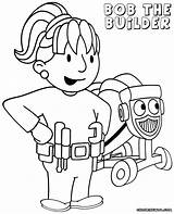 Bob Colouring Coloring Pages Sideshow Template sketch template