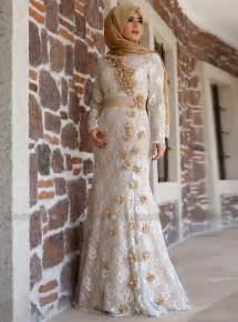 blush colored wedding dress sleeve lace evening dress with flowers islamic arabic style formal gown robe de