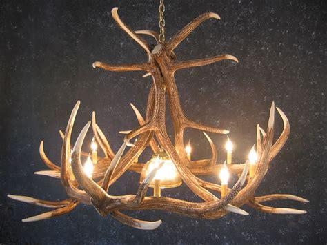 elk antler chandeliers rustic log furniture  utah