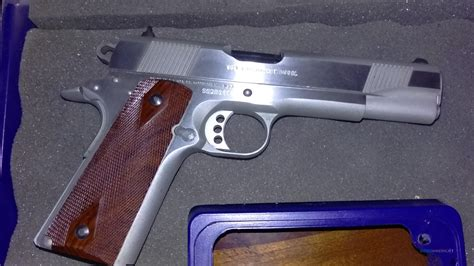Colt Government Model 1911 45 Stainless For Sale