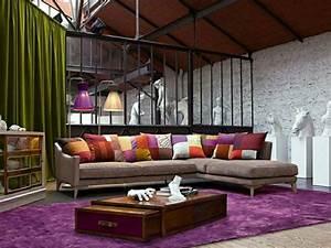 canape roche bobois en 25 photos mobilier haute de gamme With tapis de sol avec canapé d angle alcantara