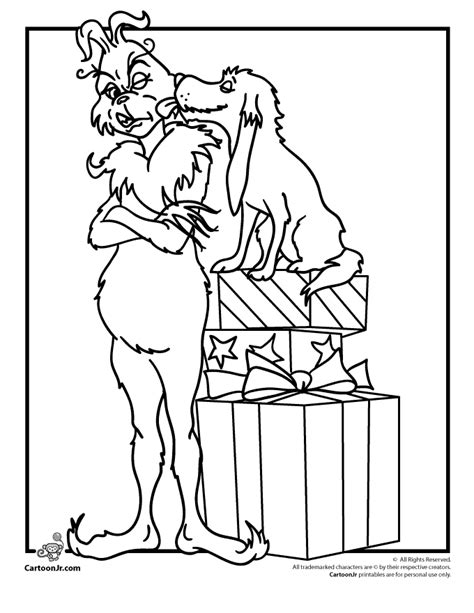 The Grinch Coloring Page Coloring Pages Of The Grinch Coloring Home