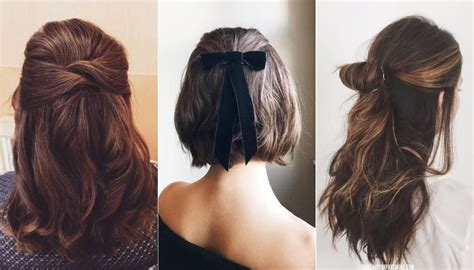 20+ Easy Half-up Hairstyles That'll Only Take Minutes To