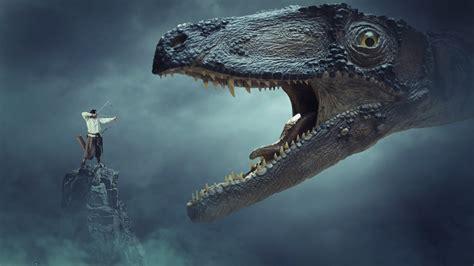 fight  dragon photo manipulation photoshop tutorial