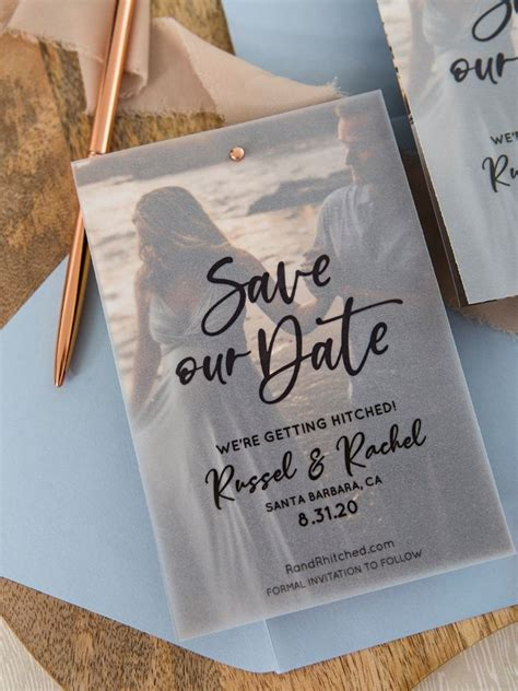 These FREE Edit + Print Photo Magnet Save The Dates Are