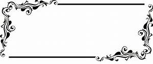 Gothic Borders And Frames Transparent Background Pictures ...