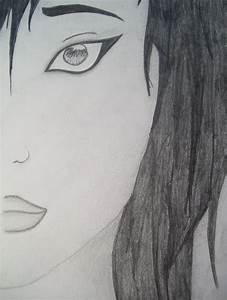 Face of a sad girl by Adamaris on DeviantArt
