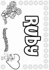 Ruby Coloring Template Hellokids Designlooter Pastel Copycat Mames Names Getdrawings 849px 49kb Drawings sketch template