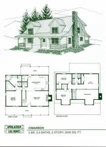 log cabin floorplans log home package kits log cabin kits cimarron model