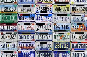 All 50 States License Plates