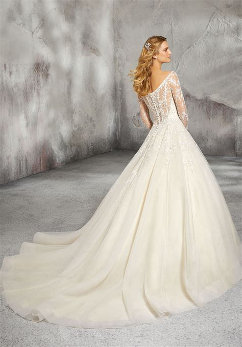 laurel wedding dress style  morilee
