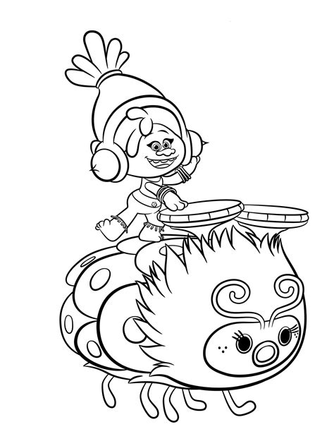 disegni da colorare trolls pdf trolls coloring pages to and print for free