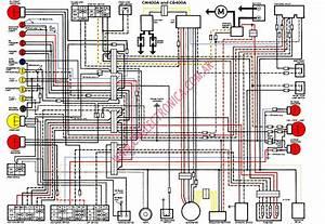 Diagrama Honda Cb400a Cm400a