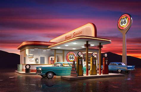 アメリカのガソリンスタンド に対する画像結果