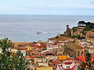 Tossa del Mar with its wide bay, nice sandy beaches and ...