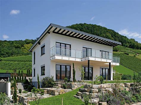 Modernes Haus Weiß by Pultdachhaus Munk Fertighaus Weiss