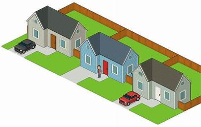 Neighborhood Isometric Block Pixel Blend Grass Adobe