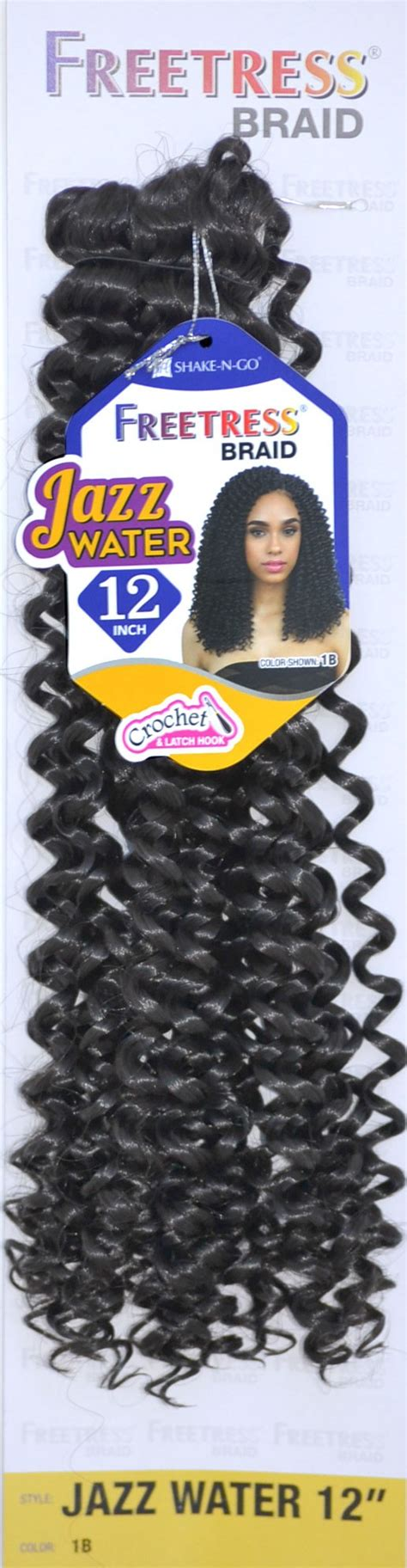 freetress braid crochet braid jazz water