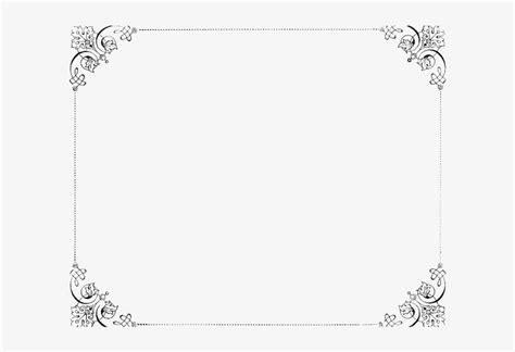 elegant transparent background wedding invitation border
