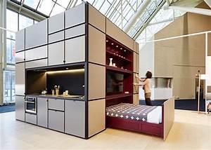 Cubitat: Sleek Plug-and-Play Unit Shelters a Kitchen
