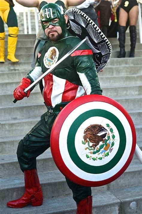 captain mexico epic cosplay cosplay costumes  cosplay