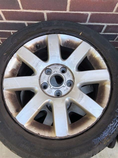 vw golf mk imola  set   alloy wheels mixed