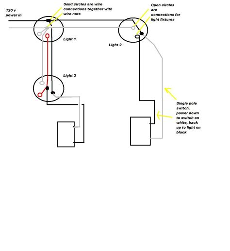 could you diagram how to wire two single pole switches to