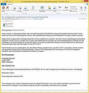 Rechnung Amazon Ag : ihr vorliegendes girokonto ist nicht ausreichend gedeckt von rechnungsstelle directpay gmbh ~ Themetempest.com Abrechnung