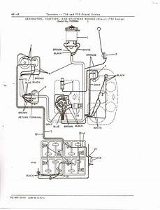 I Need The Wiring Diagram For The Starting Circuit On A Deere 730 Diesel Tractor With A 24 Volt