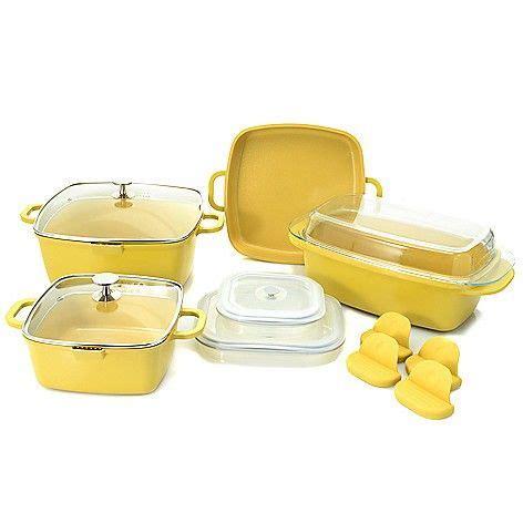cookware nonstick cook companion ceramic evine