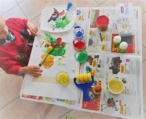 Bricolage 3 Ans : organiser une activit peinture avec des enfants de 0 3 ans ~ Melissatoandfro.com Idées de Décoration