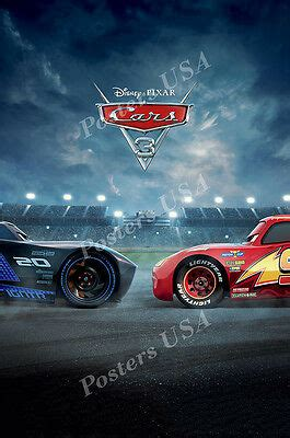 posters usa disney pixar cars   poster glossy