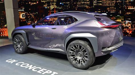 Lexus Ux Concept Paris 2018 0 Autoblog