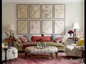 Diy living room walls decorating ideas youtube for Homemade decoration ideas for living room