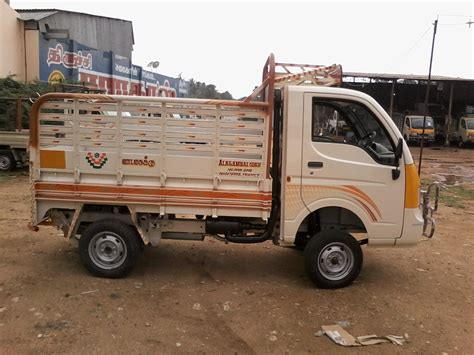 Tata Ace Backgrounds by Containers Building Alagambal Coach Builders In